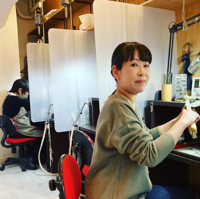 ジュエリーをつくろう楽しみながらコツコツと積み上げるcraftsmanship#彫金教室 #ジュエリーつくり