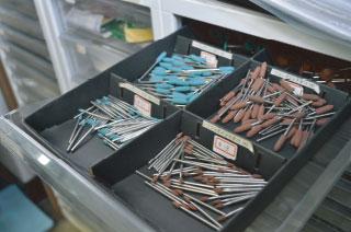 シリコンポイント、糸鋸刃、フラックスなどの消耗品