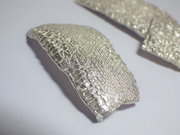 彫金専門学校/シルバー/現物鋳造/へび/WAX/アクセサリー/手作り